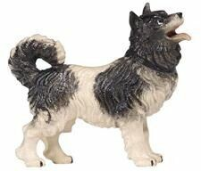 Rainell 11cm color - Hund Spitz -156