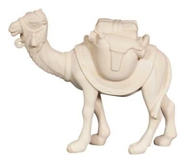 Pema Krippenfigur Kamel mit Gepäck Holz Neu Color  Nr.171 12
